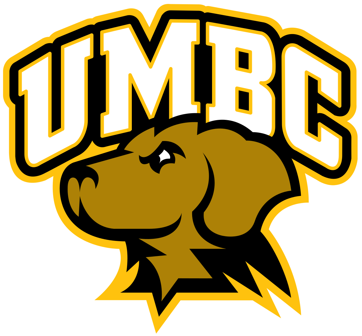 Basketball homecoming clipart svg black and white download UMBC Retrievers - Wikipedia svg black and white download