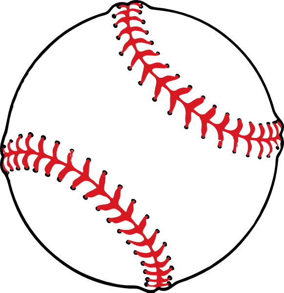 Small baseball clipart clipart black and white download Small Baseball Clip Art at Clker.com - vector clip art online ... clipart black and white download