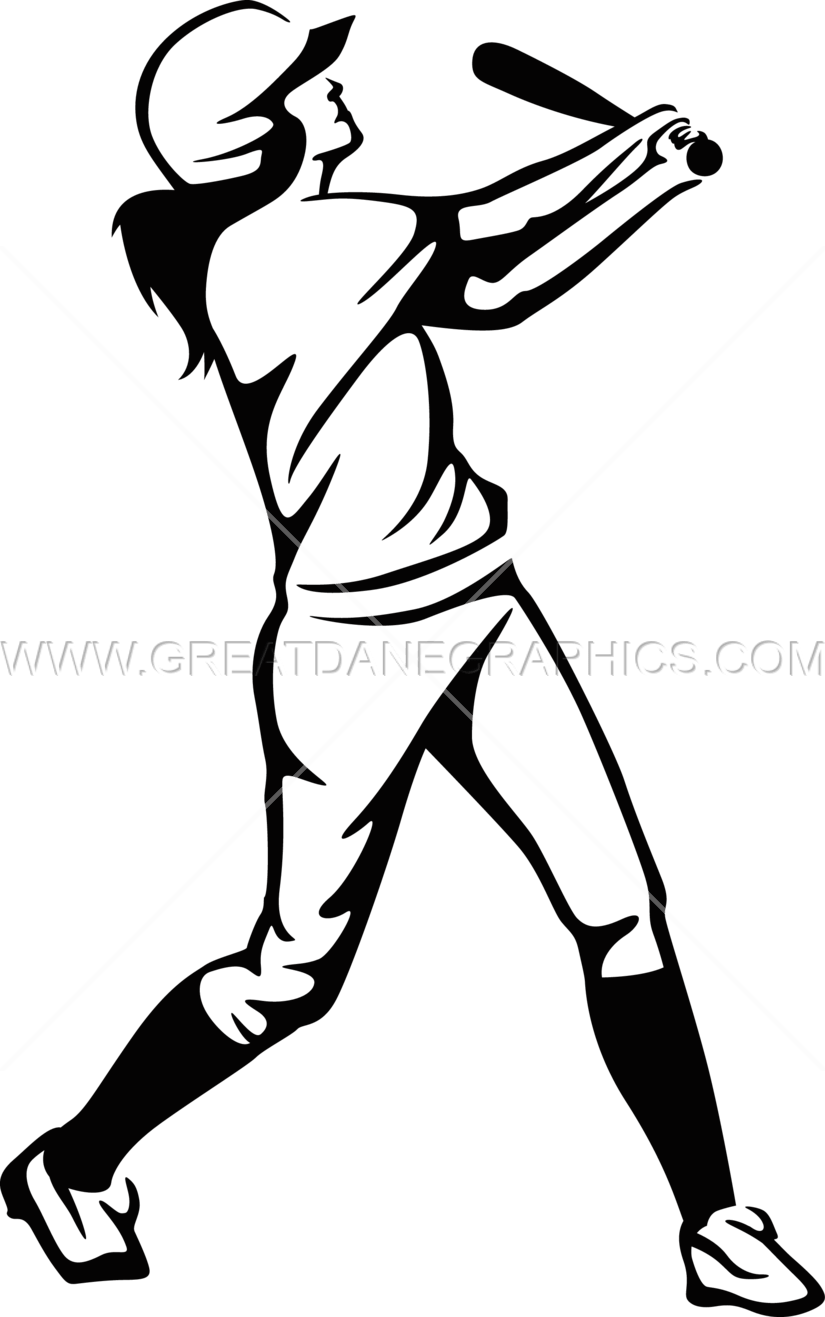 Baseball hitting clipart royalty free download Softball Player Drawing at GetDrawings.com | Free for personal use ... royalty free download