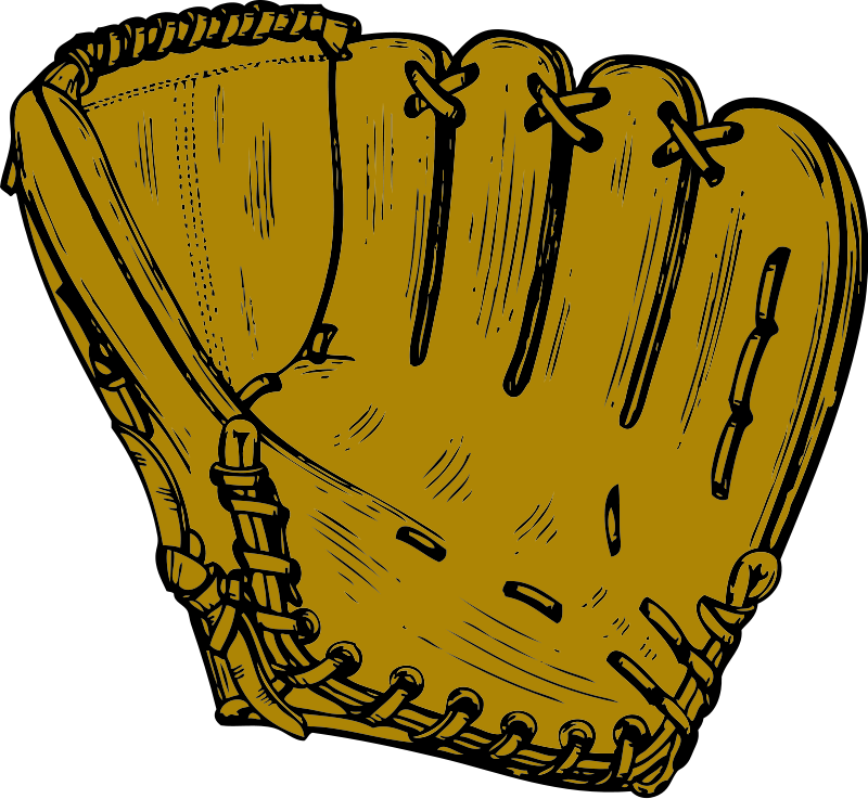 Baseball mit clipart vector royalty free Mitt Baseball | Free Stock Photo | Illustration of a baseball mitt ... vector royalty free