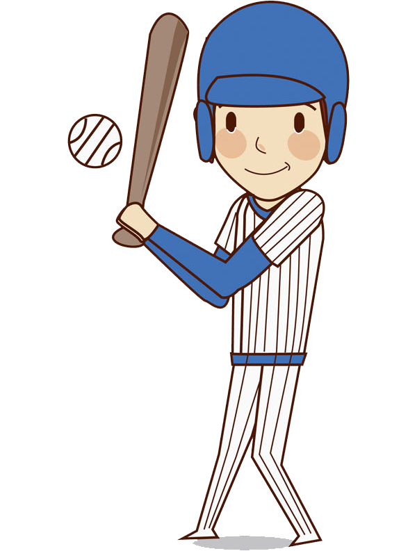 Chicken playing baseball clipart svg library library Baseball Ball game Illustration - Boy playing baseball 600*793 ... svg library library