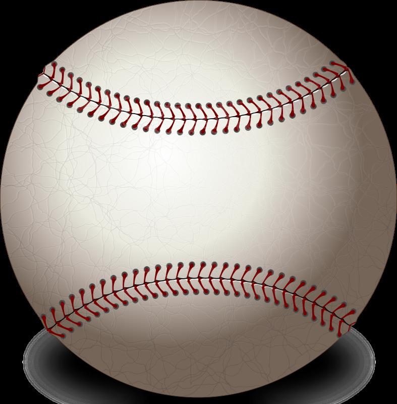 Baseball bat border clipart clip art freeuse download Baseball | Free Stock Photo | Illustration of a baseball | # 14428 clip art freeuse download