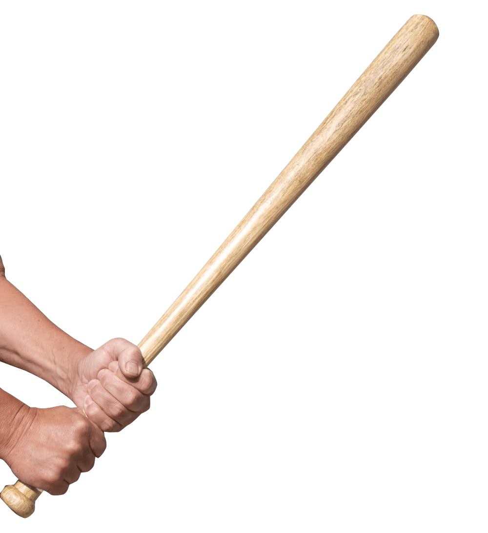 Baseball bat png clipart jpg freeuse stock Hands Holding A Baseball Bat transparent PNG - StickPNG jpg freeuse stock