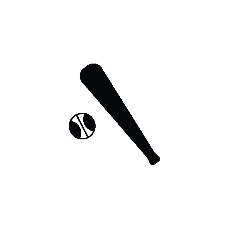 Baseball bat clipart vector svg freeuse library Baseball equipment, baseball bat, stick, sports accessories vector icon svg freeuse library