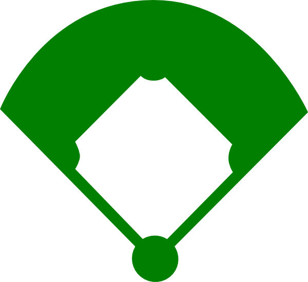 Baseball softball clipart images library Free baseball diamond vector art, free easter screensavers and ... library