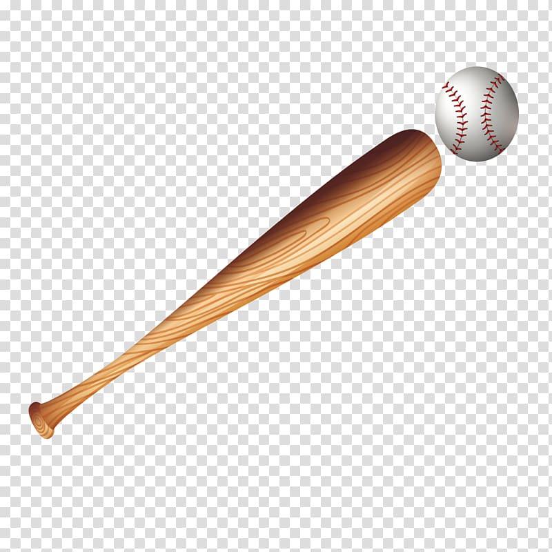 Baseball bat frame transparent clipart graphic black and white library Brown baseball bat and white baseball illustration, Baseball bat ... graphic black and white library