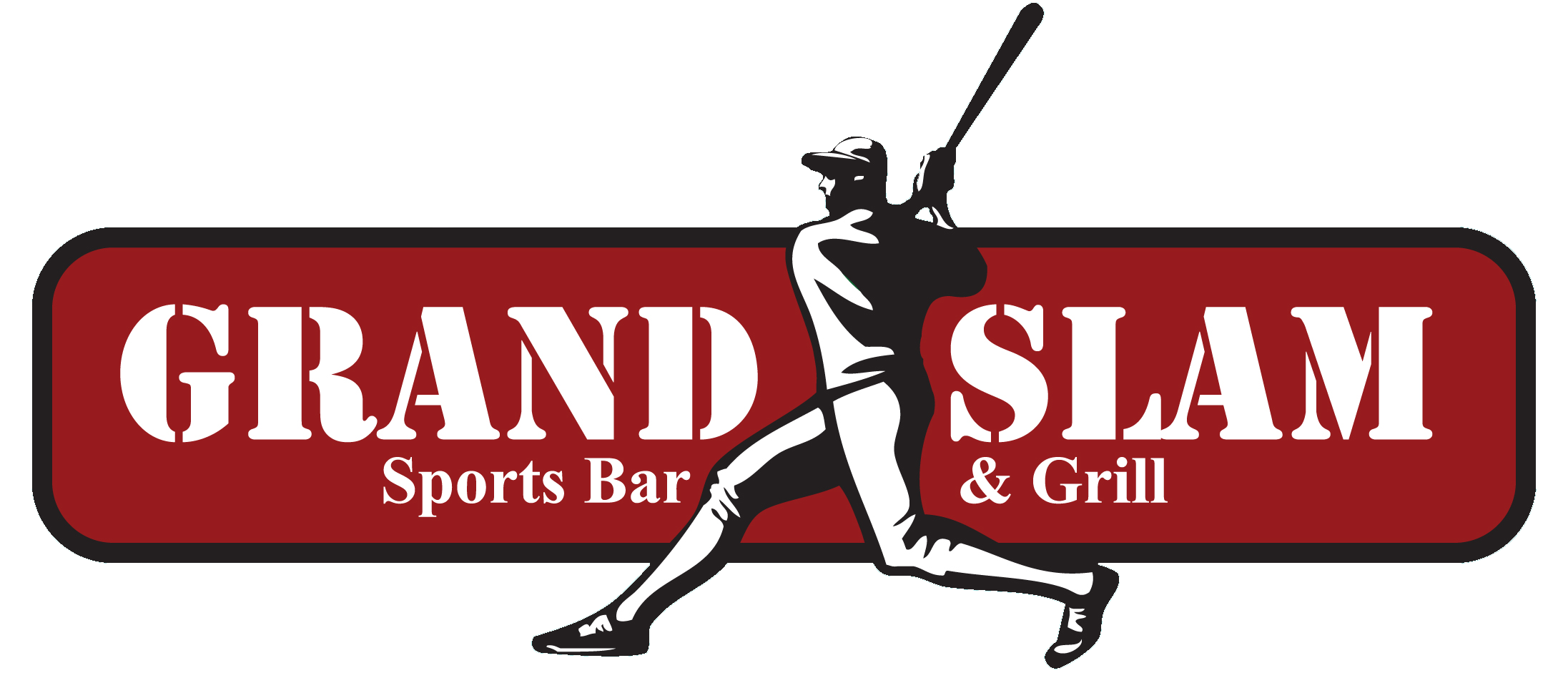 Grand slam baseball wording clipart clipart free Home - Grand Slam Sports Bar & Grill clipart free