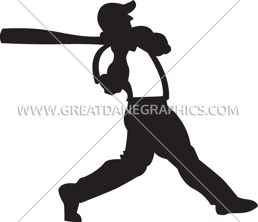 Baseball player swinging a bat clipart jpg transparent download Baseball Player Swinging | Production Ready Artwork for T-Shirt Printing jpg transparent download