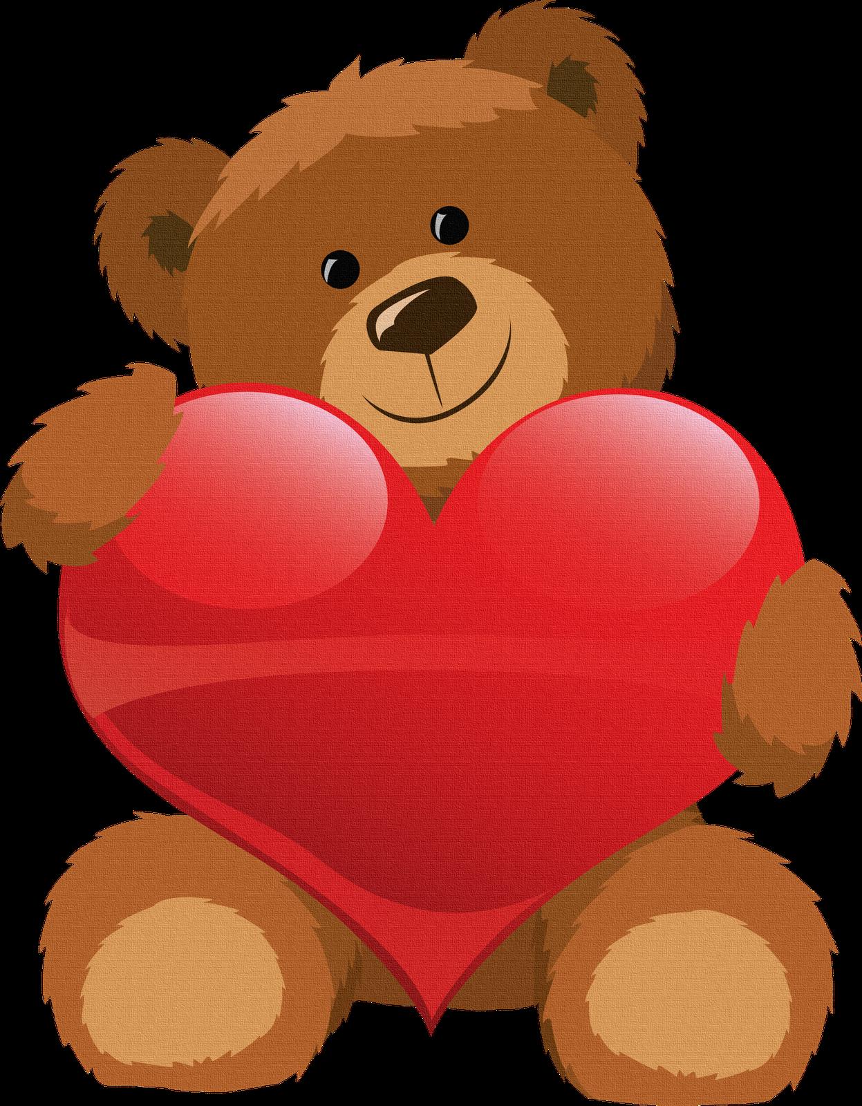 Clipart teddy bear with heart clip royalty free Oso con corazon para imprimir | Pekné obrázky | Pinterest | Teddy ... clip royalty free