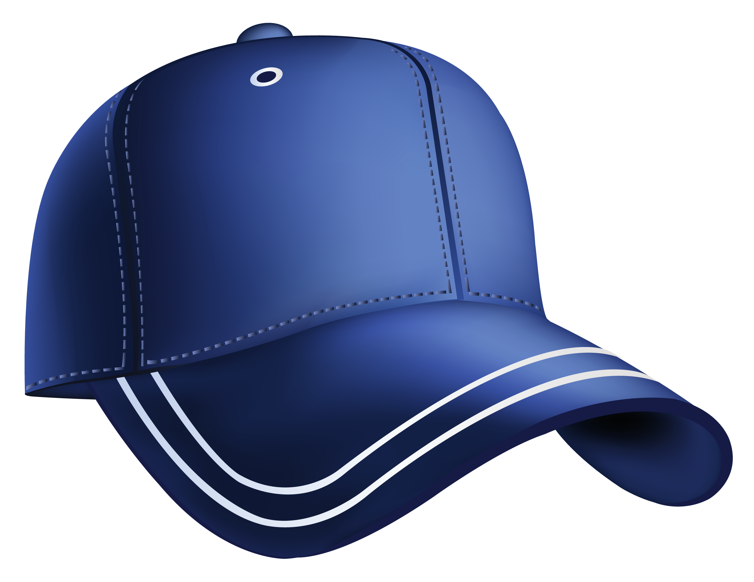 Blue baseball hat clipart jpg black and white stock Blue Baseball Cap Clipart jpg black and white stock