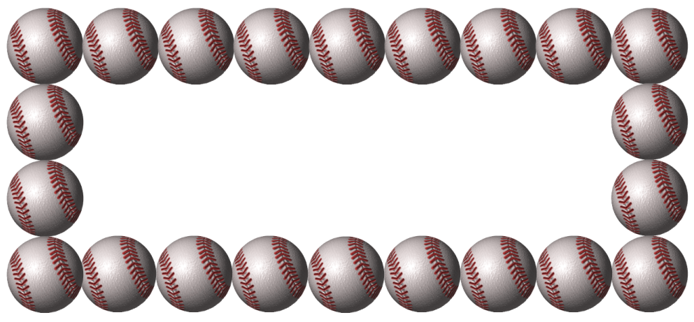 Baseball card border clipart picture royalty free library Baseball Border Clipart | Free download best Baseball Border Clipart ... picture royalty free library