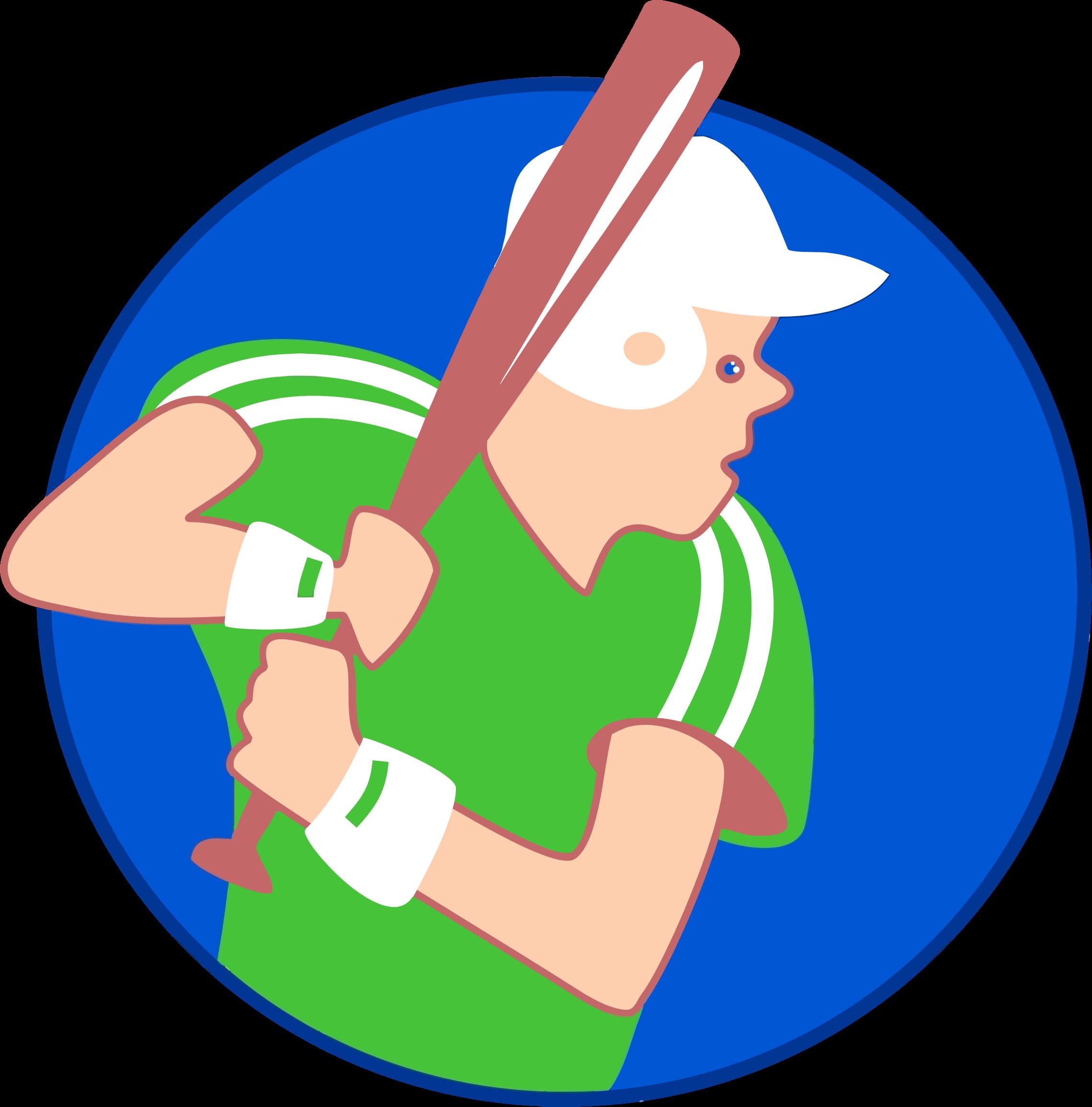 Baseball boy clipart clip art download Clipart - Baseball Boy Icon clip art download