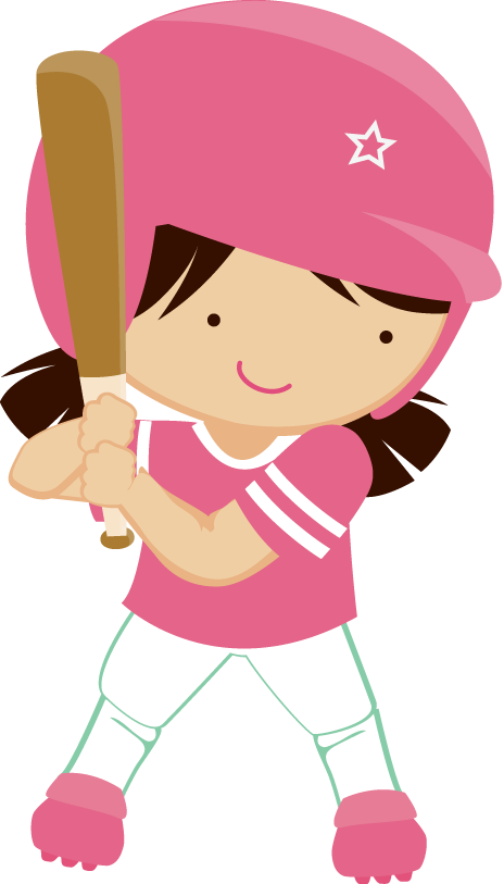 Cute baseball clipart. Minus say hello stamped