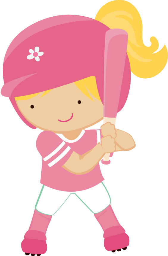 Baseball girl clipart svg freeuse stock Minus - Say Hello! | My gifs | Pinterest | Clip art, Girls clips and ... svg freeuse stock