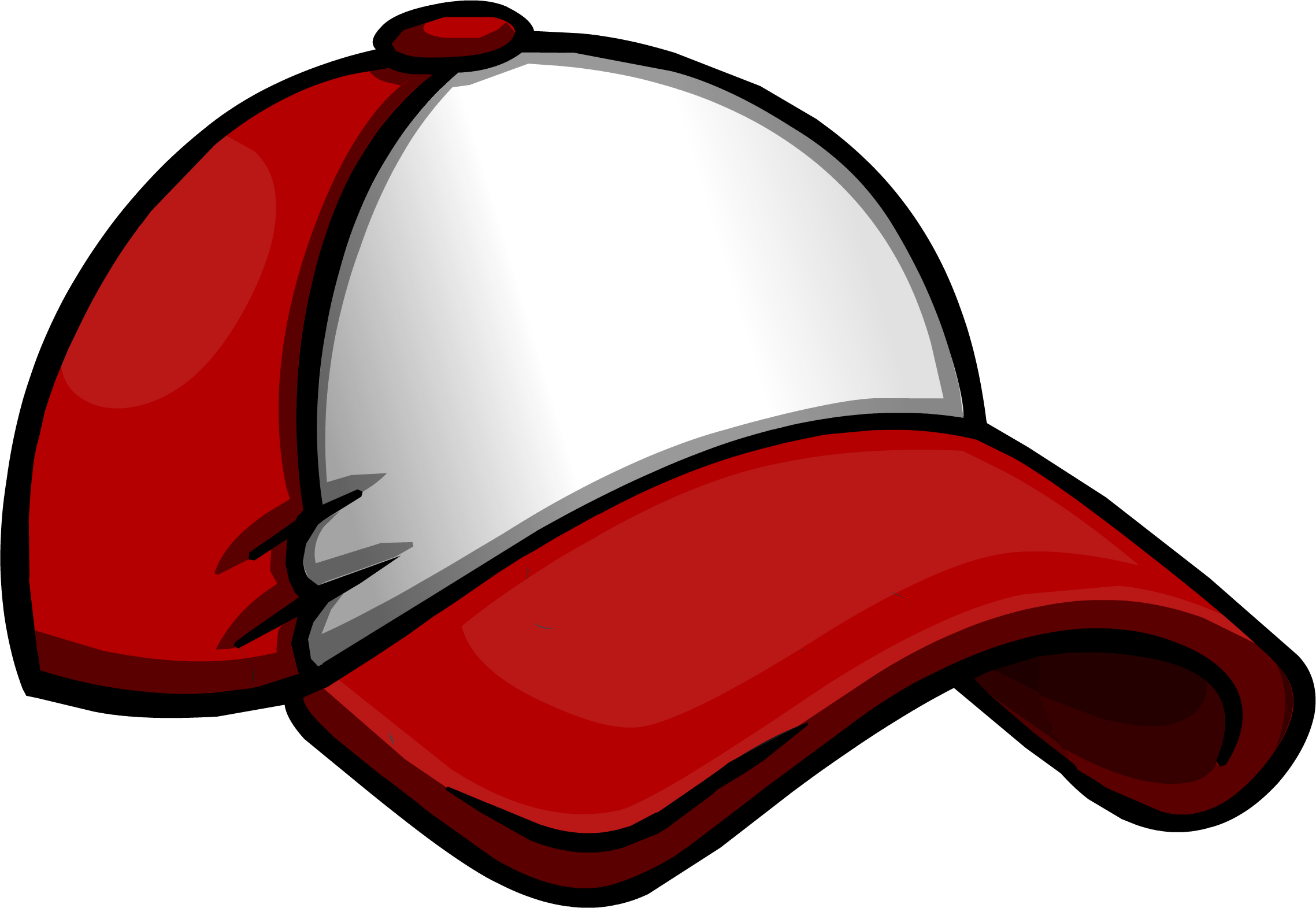 Clipart of royals baseball hat vector library stock New Player Red Baseball Hat | Club Penguin Wiki | FANDOM powered by ... vector library stock