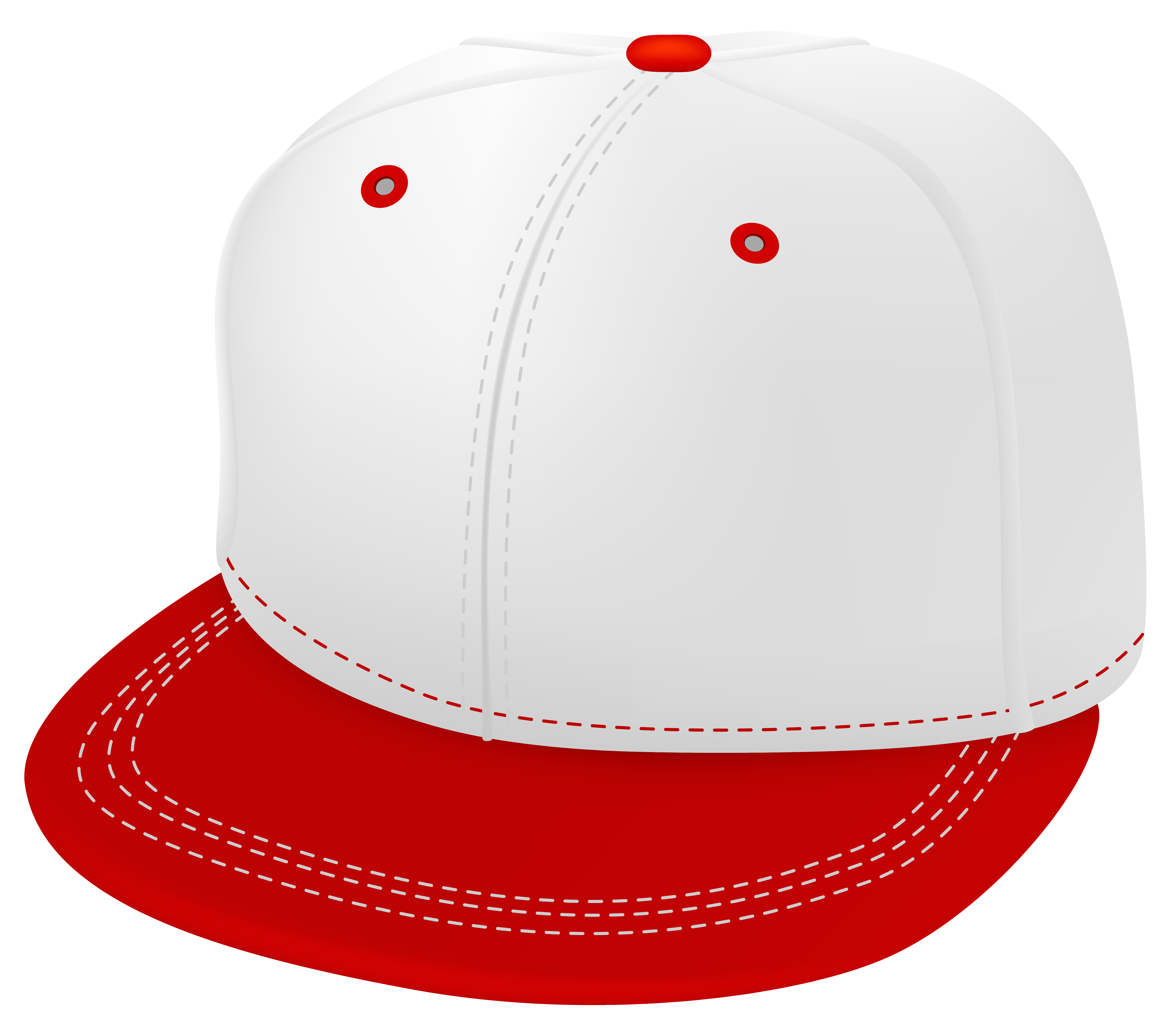 Red baseball hat clipart transparent download Red and White Cap PNG Clipart - Best WEB Clipart transparent download