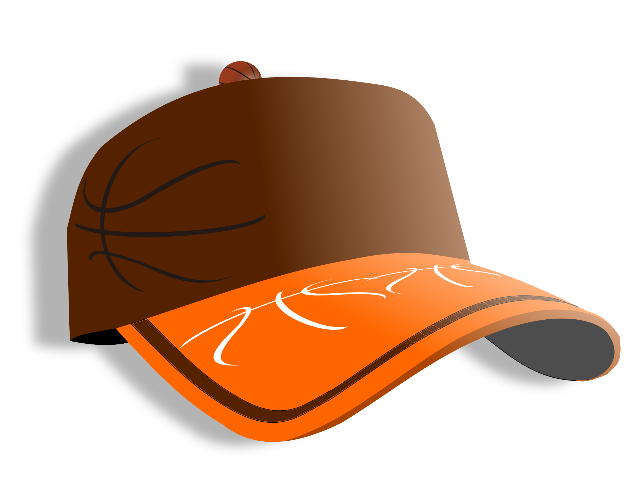 Basketball hat clipart vector transparent library Clipart - cap vector transparent library