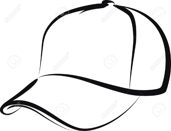 Free baseball cap clipart png black and white library Free Backwards Baseball Cap Clipart | Free Images at Clker.com ... png black and white library