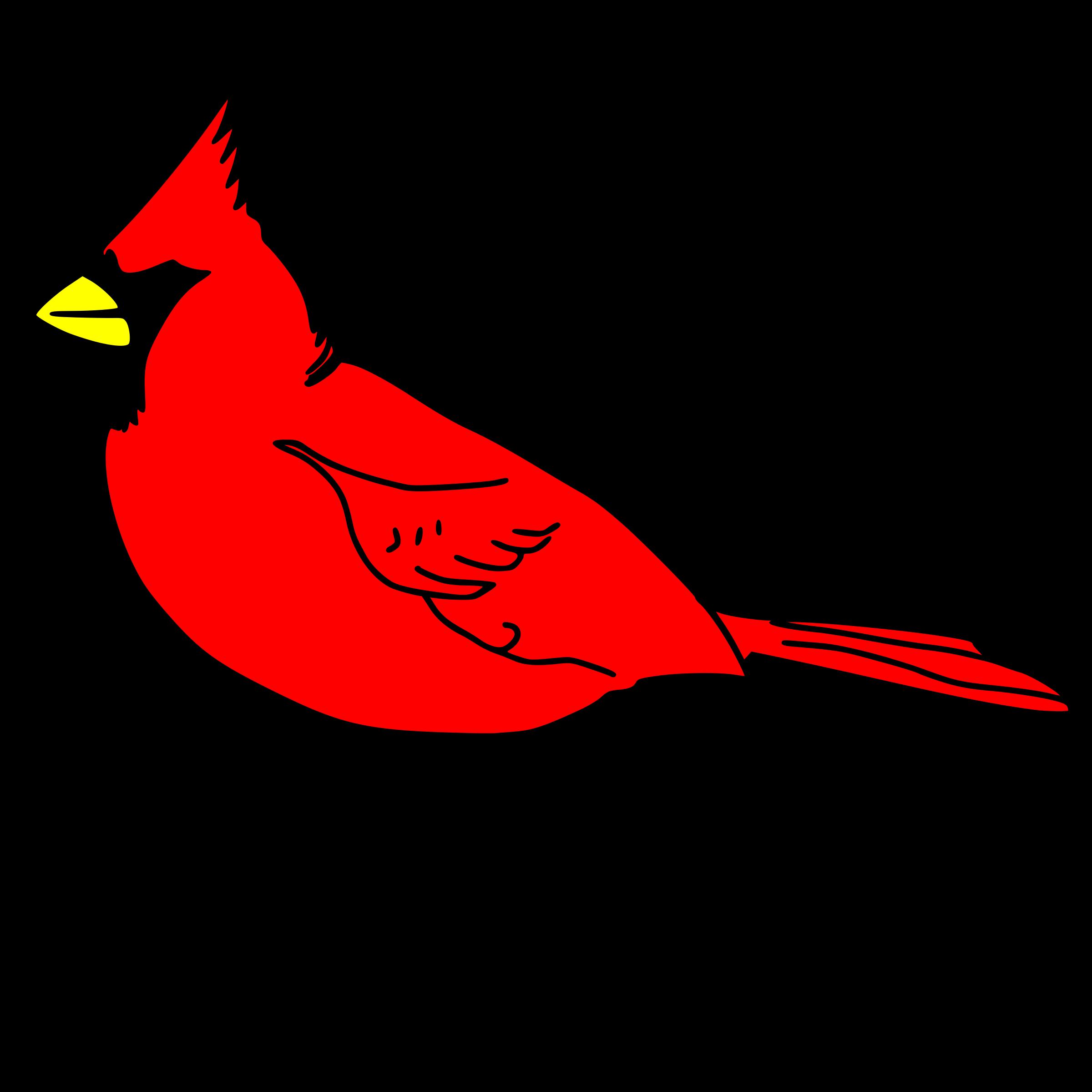 Cardinals baseball cap clipart picture transparent stock Clipart - cardinal remix 1 picture transparent stock