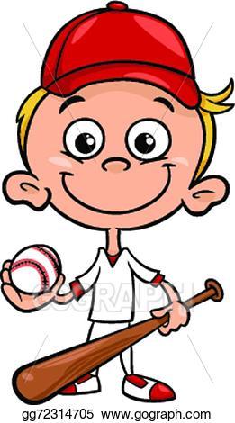 Baseball cartoon cliparts