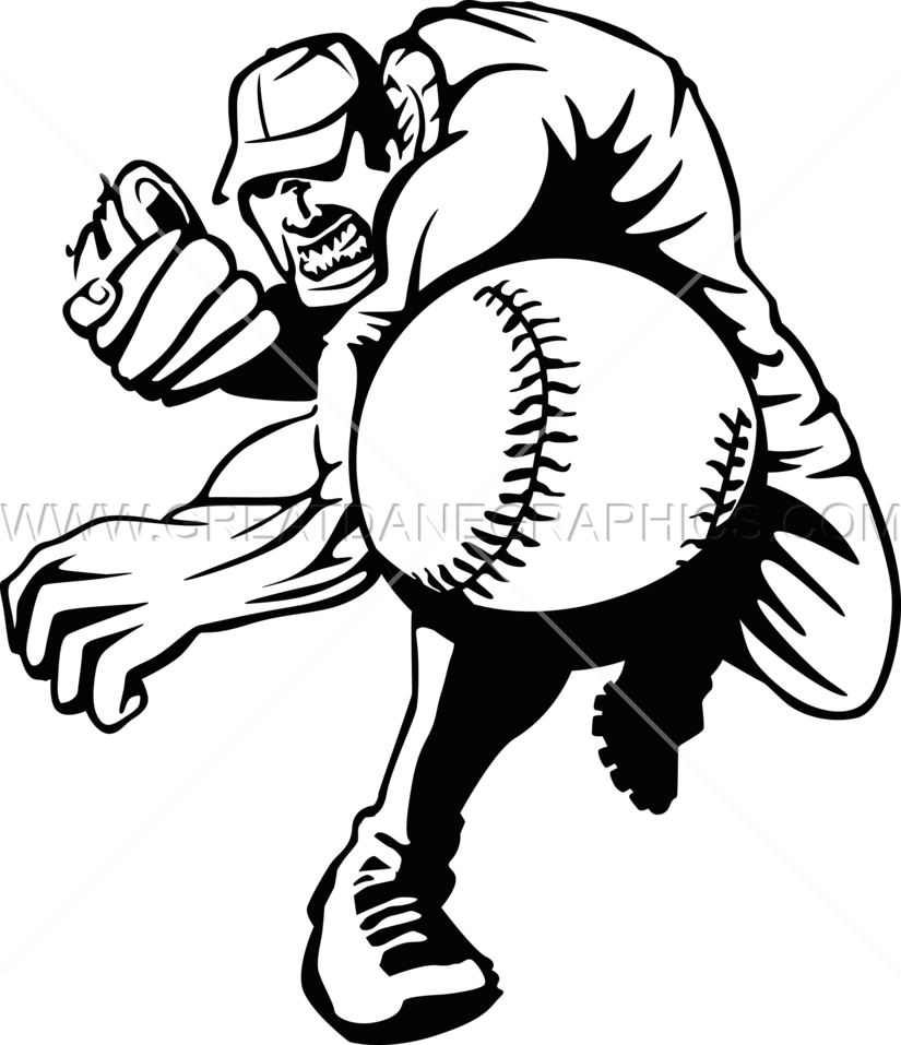 Female baseball pitcher clipart clipart library library Baseball Pitcher Drawing at GetDrawings.com | Free for personal use ... clipart library library