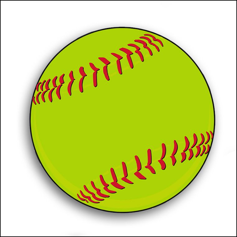 Clipart softball pictures vector royalty free Softball clip art logo free clipart images 3 clipartcow | Softball ... vector royalty free