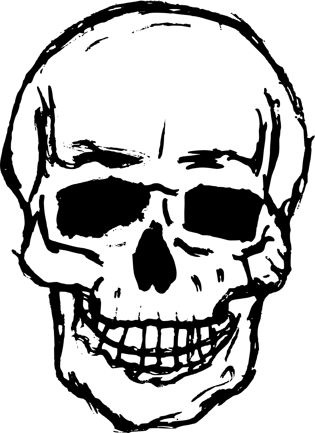 Halloween skeleton head clipart svg library library Cleats Drawing at GetDrawings.com | Free for personal use Cleats ... svg library library