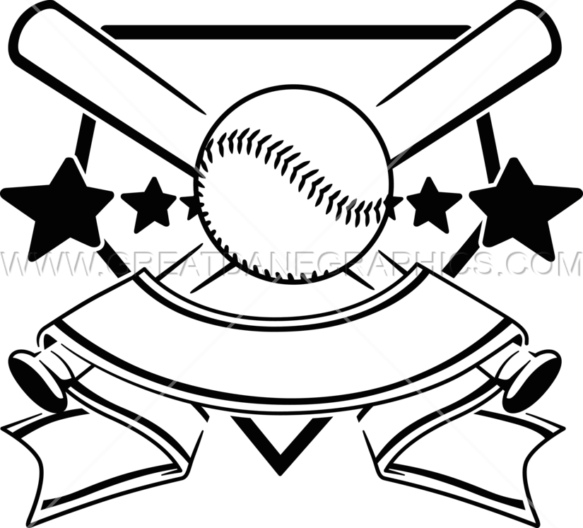 Baseball cleats clipart vector transparent Softball Crest | Production Ready Artwork for T-Shirt Printing vector transparent