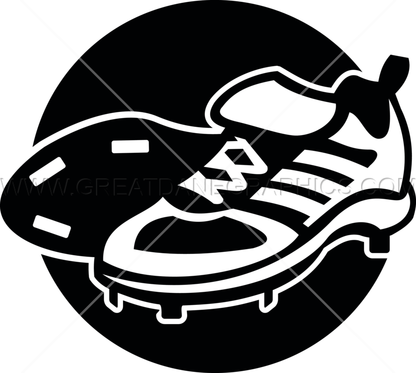 Baseball shoes clipart banner download Baseball Cleats | Production Ready Artwork for T-Shirt Printing banner download