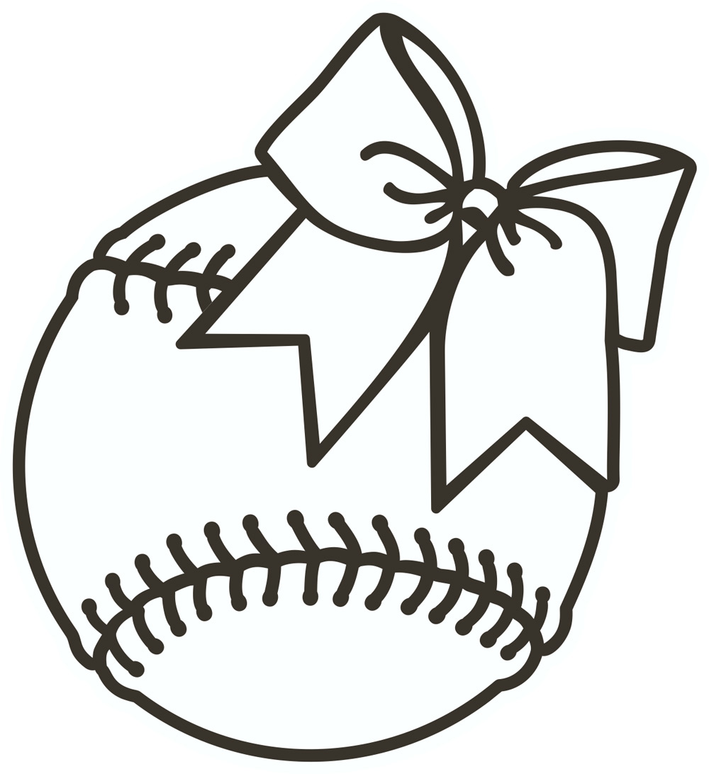 Baseball clipart black and white transdfer express jpg library library New softball layout and clip art transfer express - ClipartBarn jpg library library
