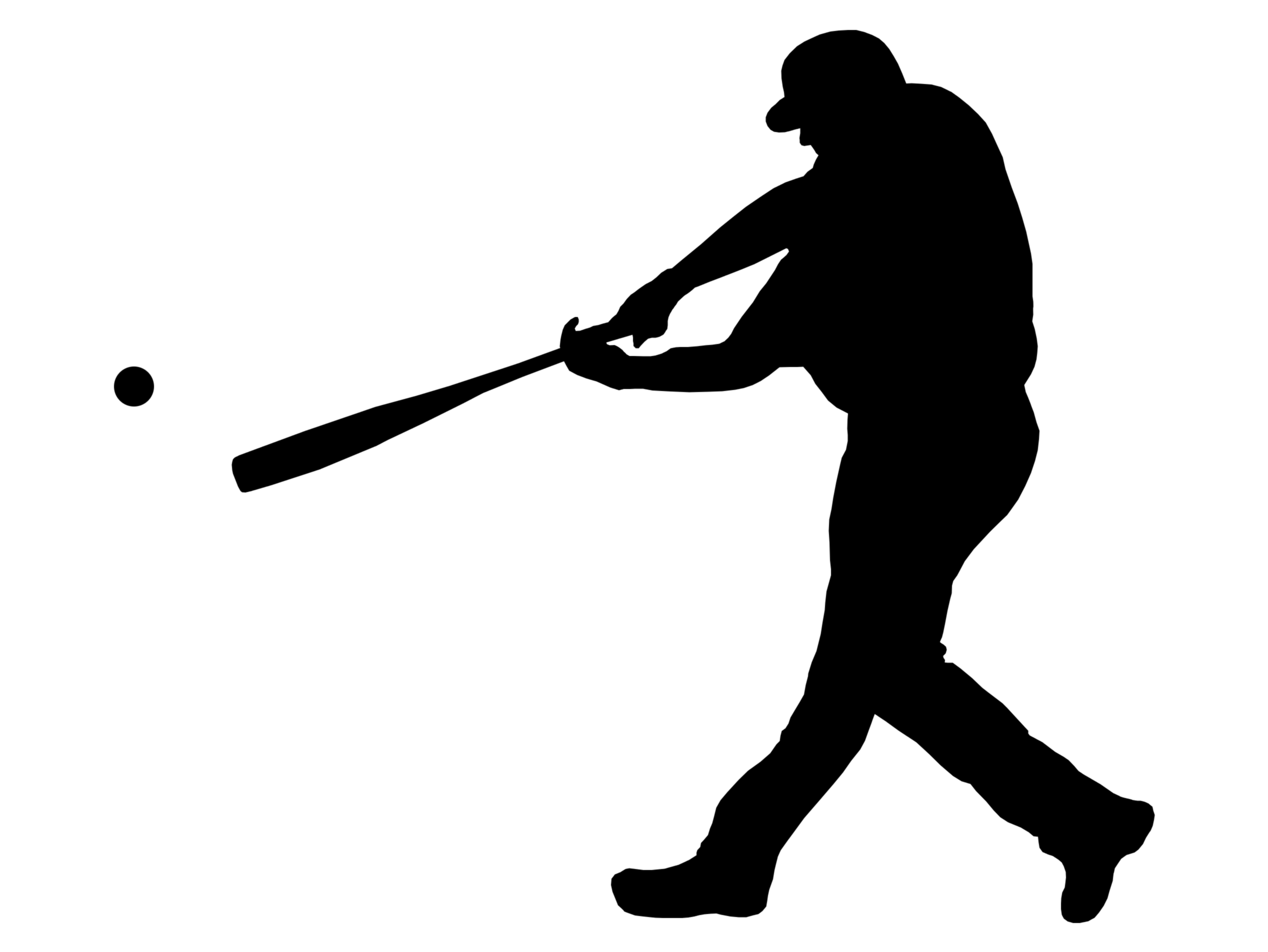 Baseball clipart black and white transdfer express vector royalty free download Softball Batter Clipart | Free download best Softball Batter Clipart ... vector royalty free download