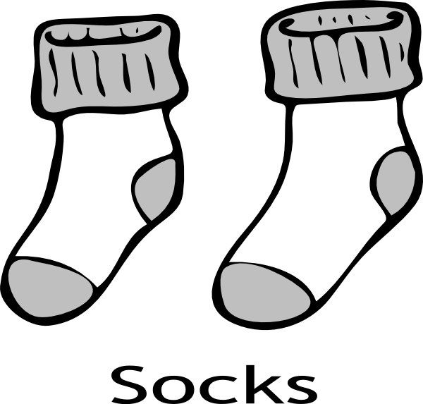 Clip art sock . Baseball stitches clipart vector
