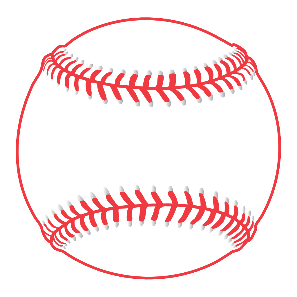 Baseball swoosh clipart png black and white download Simple Baseball Cliparts - Cliparts Zone png black and white download