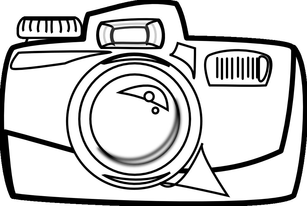 Baseball clipart cartoon black and white clipart royalty free library Free Black And White Camera Clip Art (40+) clipart royalty free library