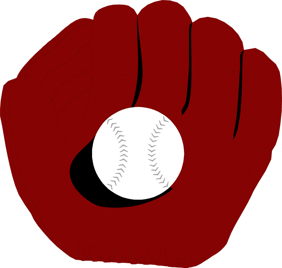 Baseball glove clipart clip black and white download Baseball | Free Stock Photo | Illustration of a baseball in a ... clip black and white download