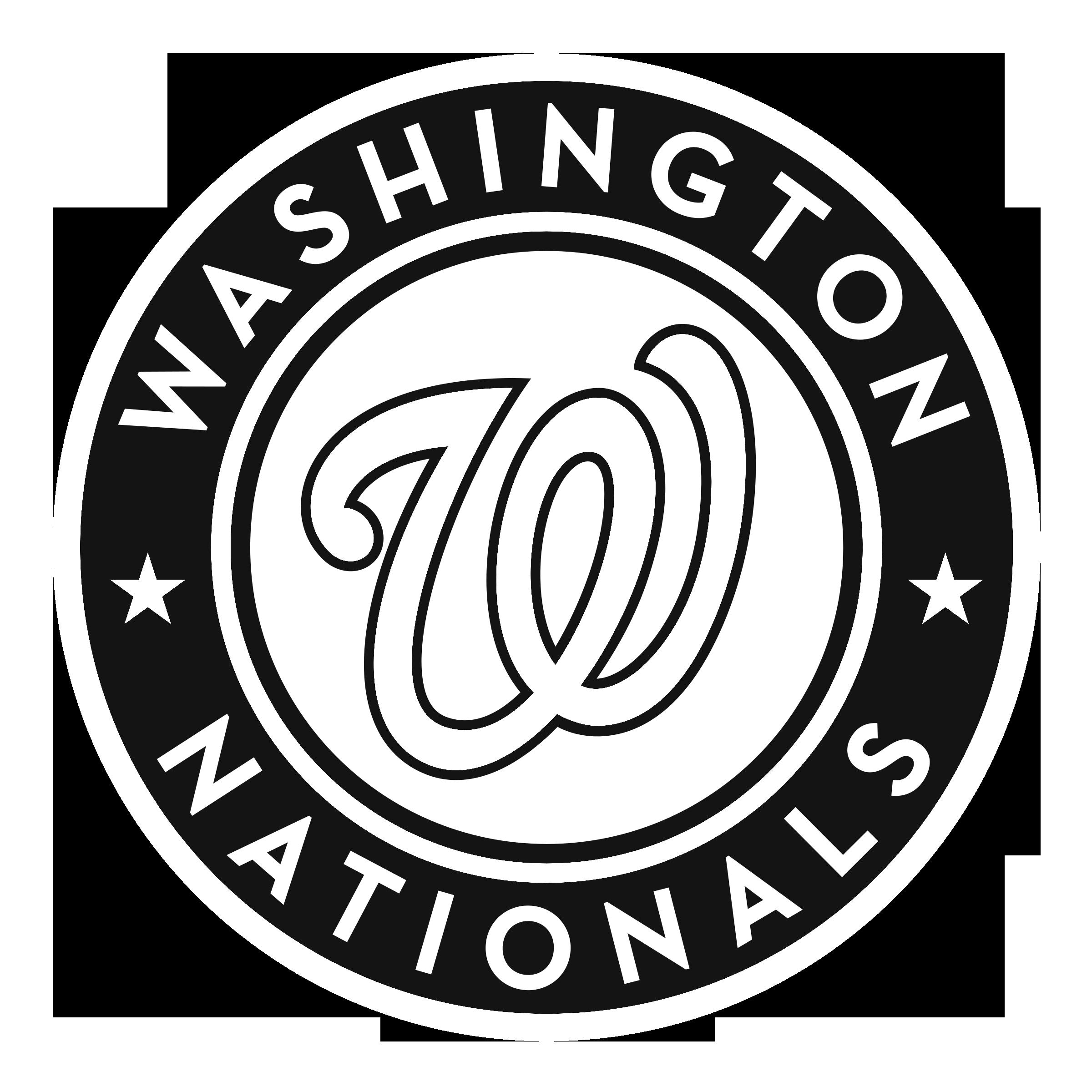 Baseball logo clipart free black and white clipart royalty free Washington, D.C. Washington Nationals Chicago Cubs MLB Baseball ... clipart royalty free