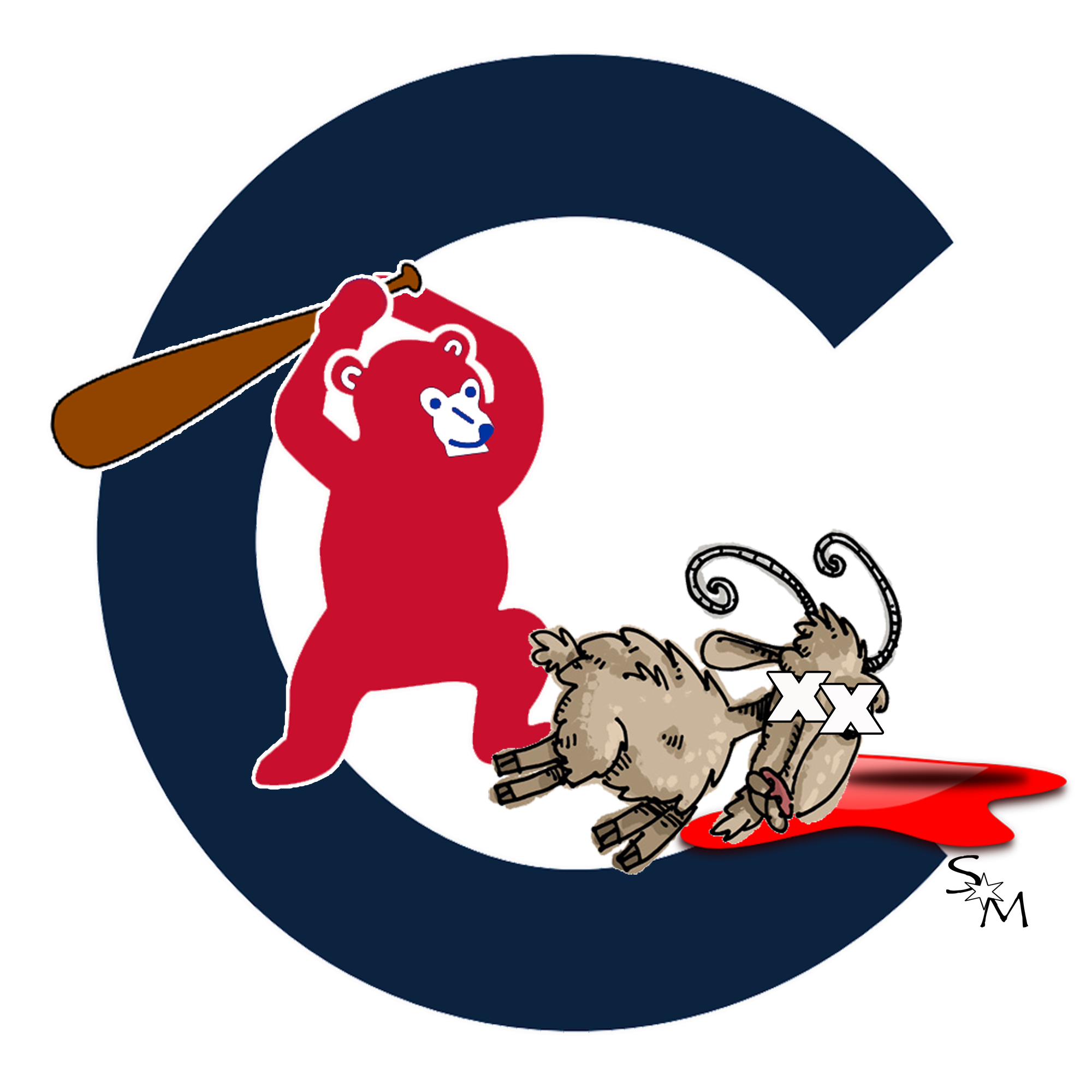 Cubs baseball clipart clip art library library Cubs, Kris Bryant Agree To Record Pre-Arb Deal - MLB Trade Rumors clip art library library