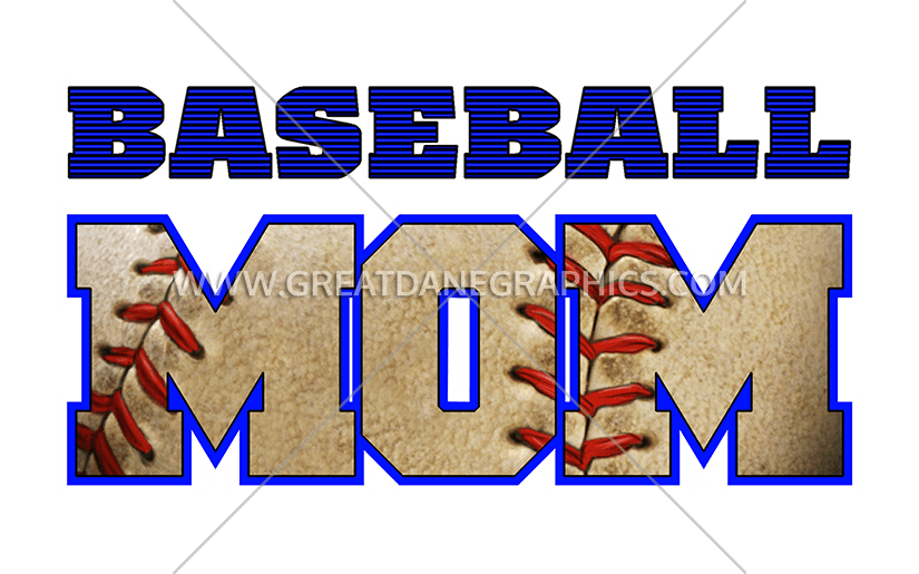 Baseball clipart font clipart library download Baseball Mom | Production Ready Artwork for T-Shirt Printing clipart library download