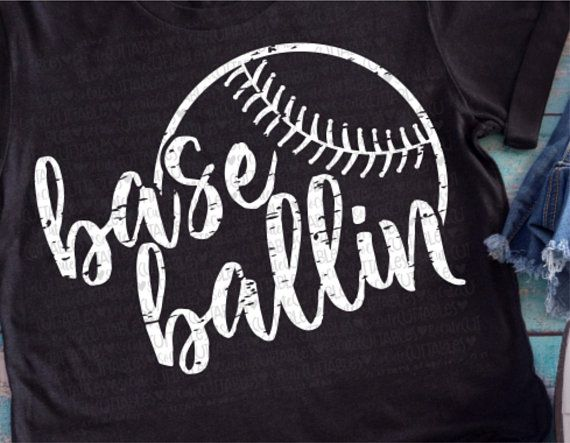 Baseball clipart for t shirts clip art freeuse Baseball svg, baseball mom, base ballin, baseball svg, svg file ... clip art freeuse