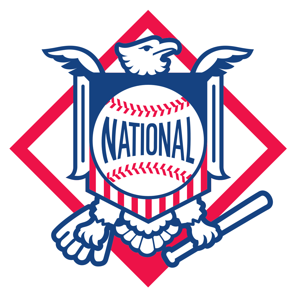 Major league baseball stadium clipart graphic royalty free National League - Wikipedia graphic royalty free