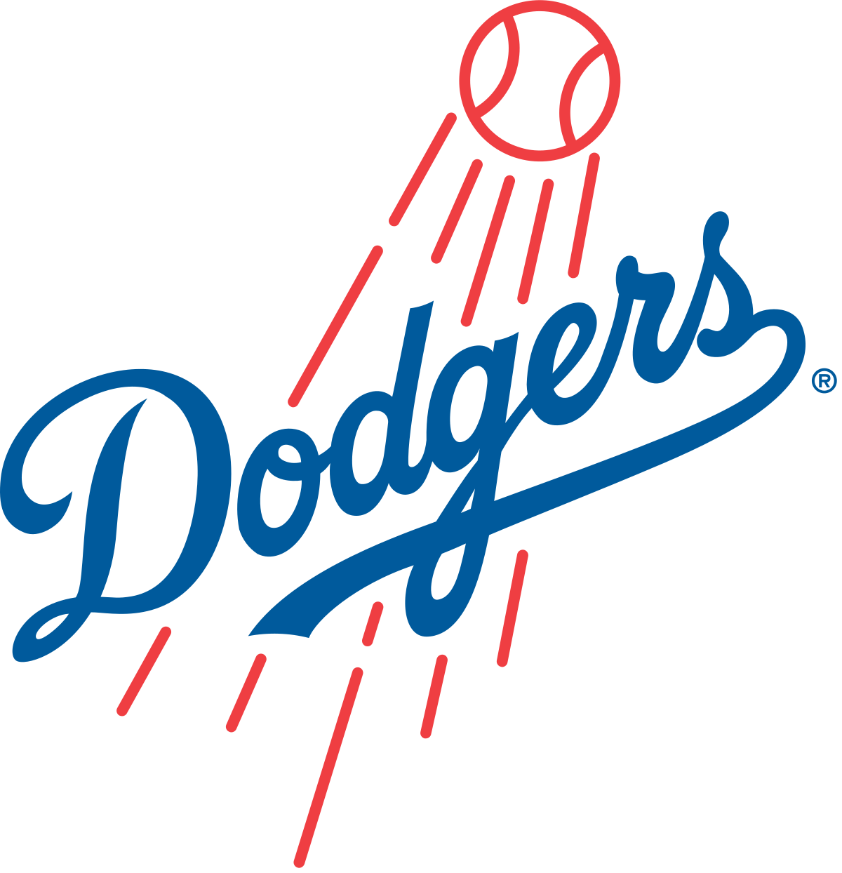 Baseball clipart free la dodgers black and white stock Los Angeles Dodgers - Wikipedia black and white stock