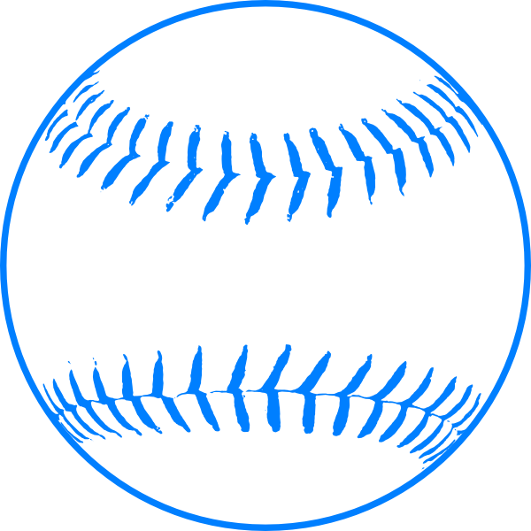 Bug baseball clipart banner library stock Blue Softball Clip Art at Clker.com - vector clip art online ... banner library stock