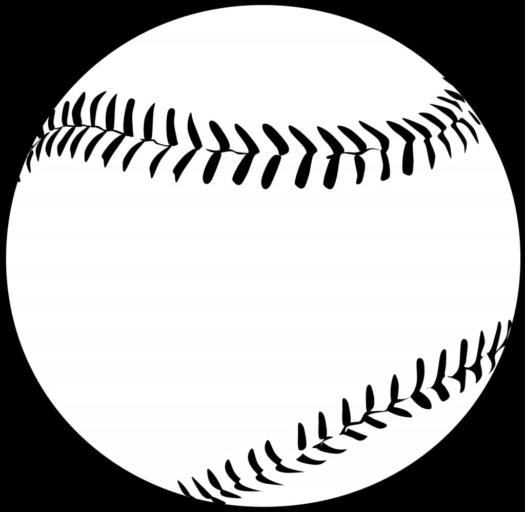Baseball clipart outline vector royalty free stock Baseball Clipart – WeNeedFun vector royalty free stock