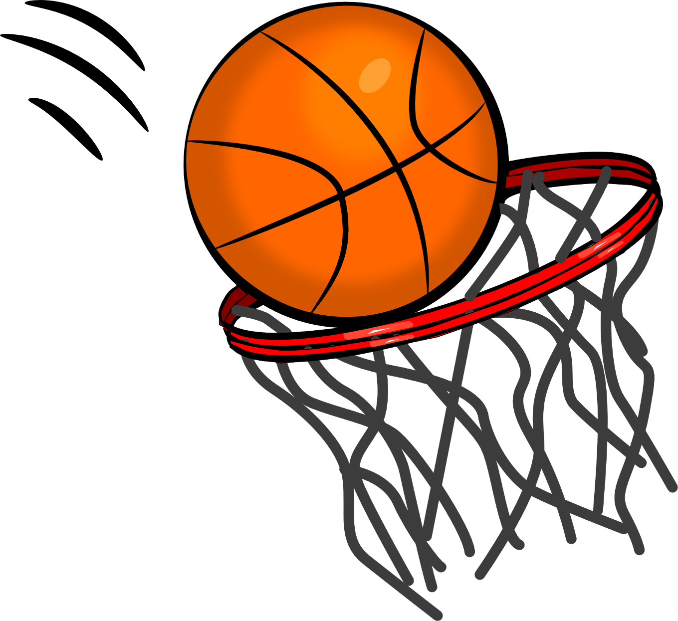 Basketball going in hoop clipart png freeuse library Basketball coach clipart | ClipartMonk - Free Clip Art Images png freeuse library