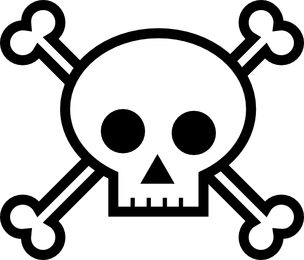 Baseball crossbones clipart png transparent library Skull And Crossbones Png Available In Different Size #27237 - Free ... png transparent library