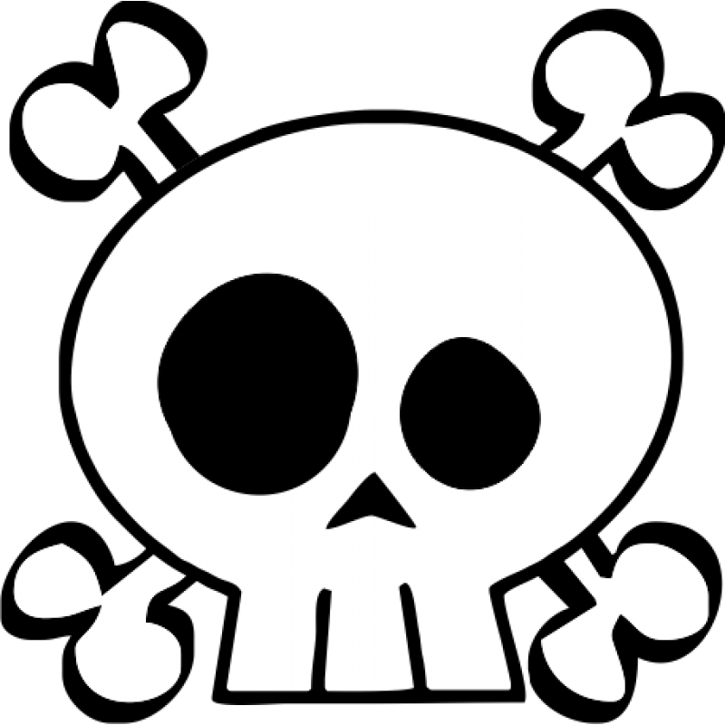 Skull and cross bones clipart clip art royalty free Png Skull And Crossbones Vector #27241 - Free Icons and PNG Backgrounds clip art royalty free
