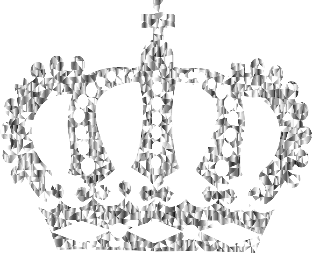 Black crown clipart clipart transparent download Diamond Royal Crown Clipart | errortape.me clipart transparent download