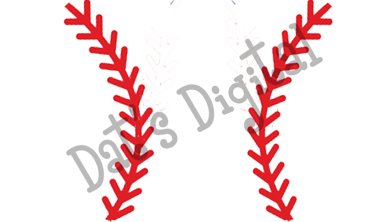 Baseball curved laces clipart vector stock Stitches Cliparts | Free download best Stitches Cliparts on ... vector stock