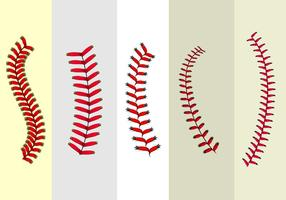 Baseball curved laces clipart vector library library Baseball Laces Free Vector Art - (882 Free Downloads) vector library library