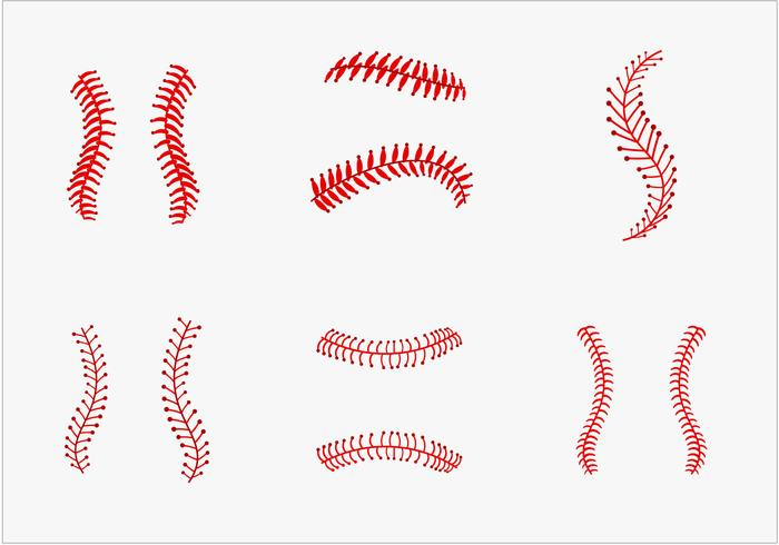 Baseball curved laces clipart clipart royalty free download Baseball Laces Free Vector Art - (882 Free Downloads) clipart royalty free download
